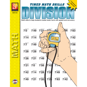 Timed Math Drills: Division 3-6